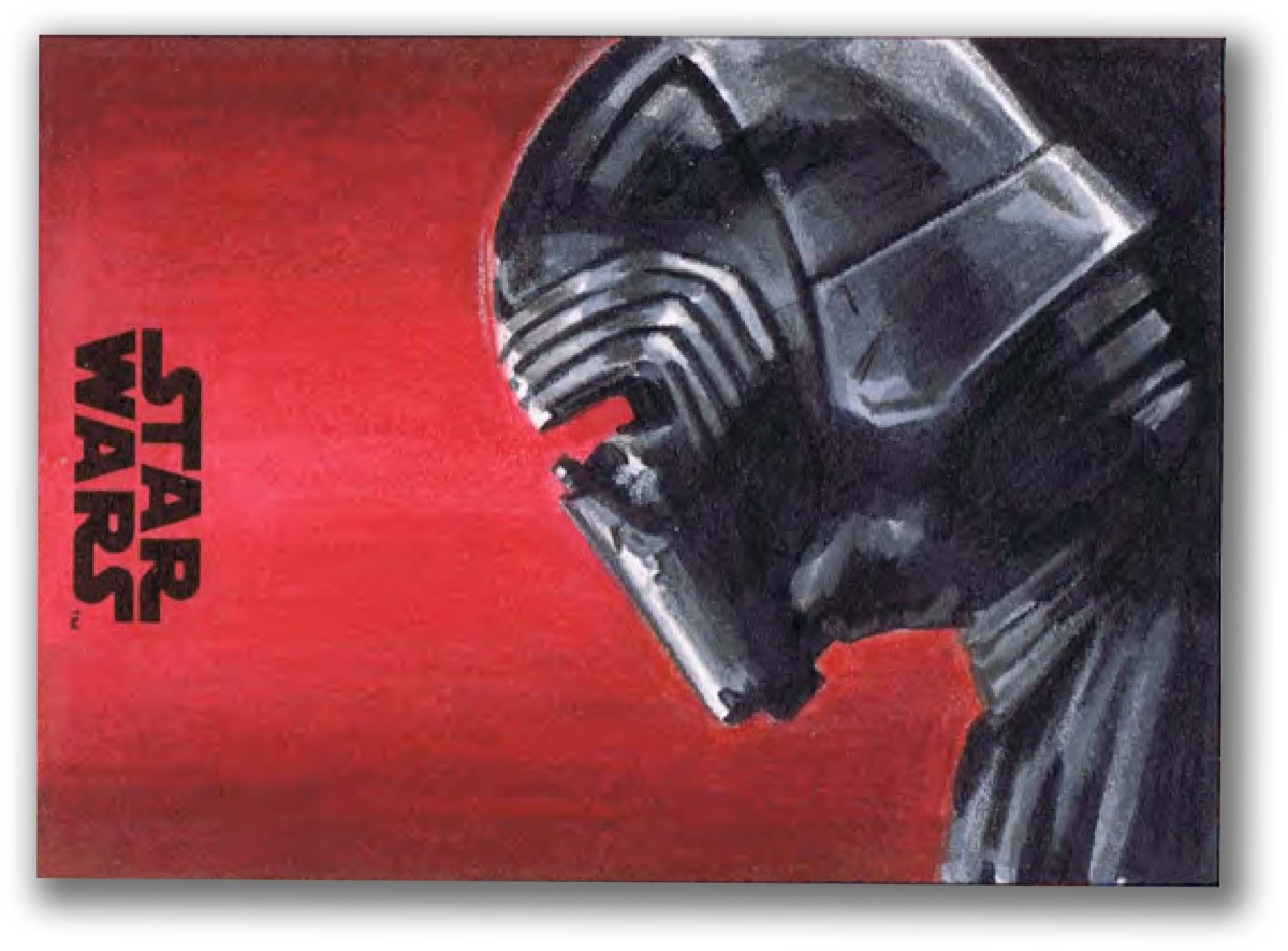 Brand New Star Wars: The Last Jedi Sketch Cards!