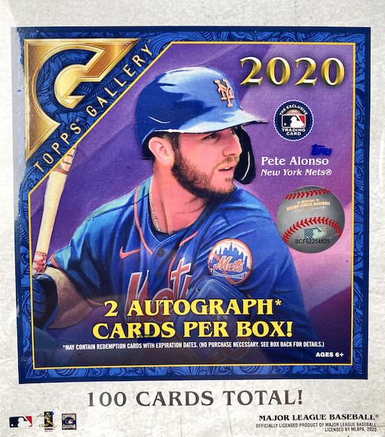 Topps 2020 Gallery Baseball Base Card Artwork