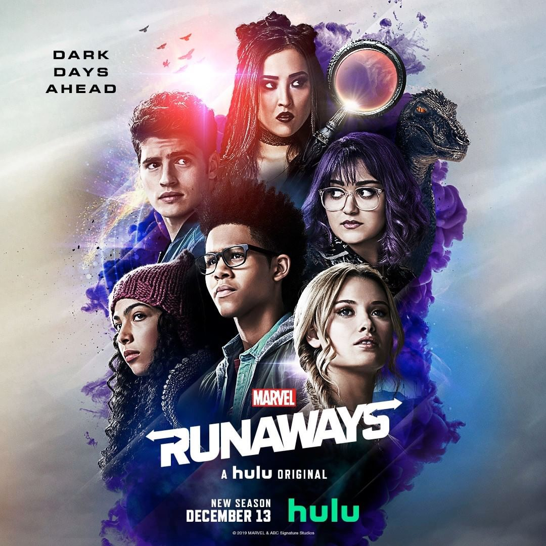 Marvel's Runaways Trading Card Artwork