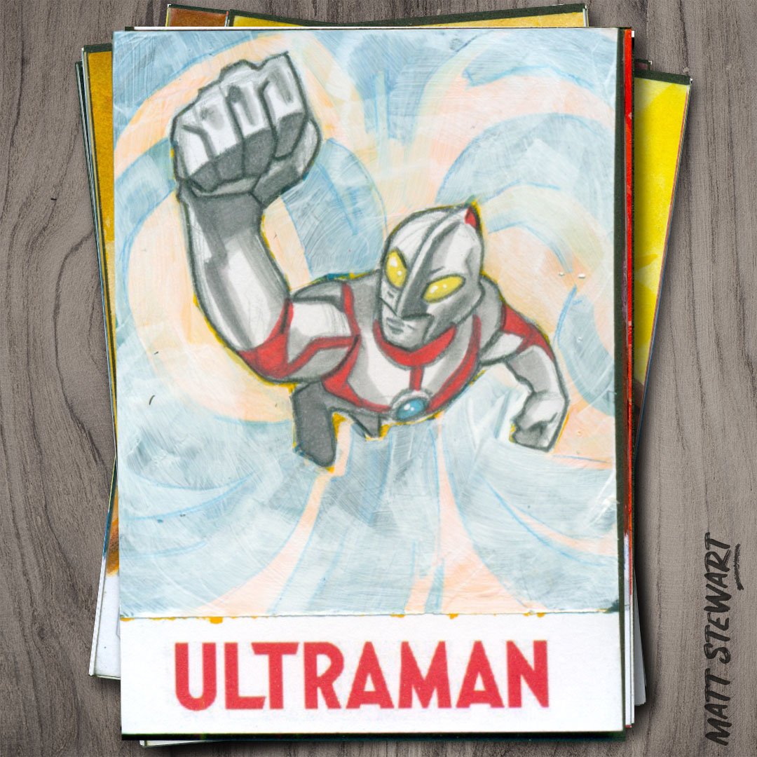 Ultraman Trading Cards from RRParks!