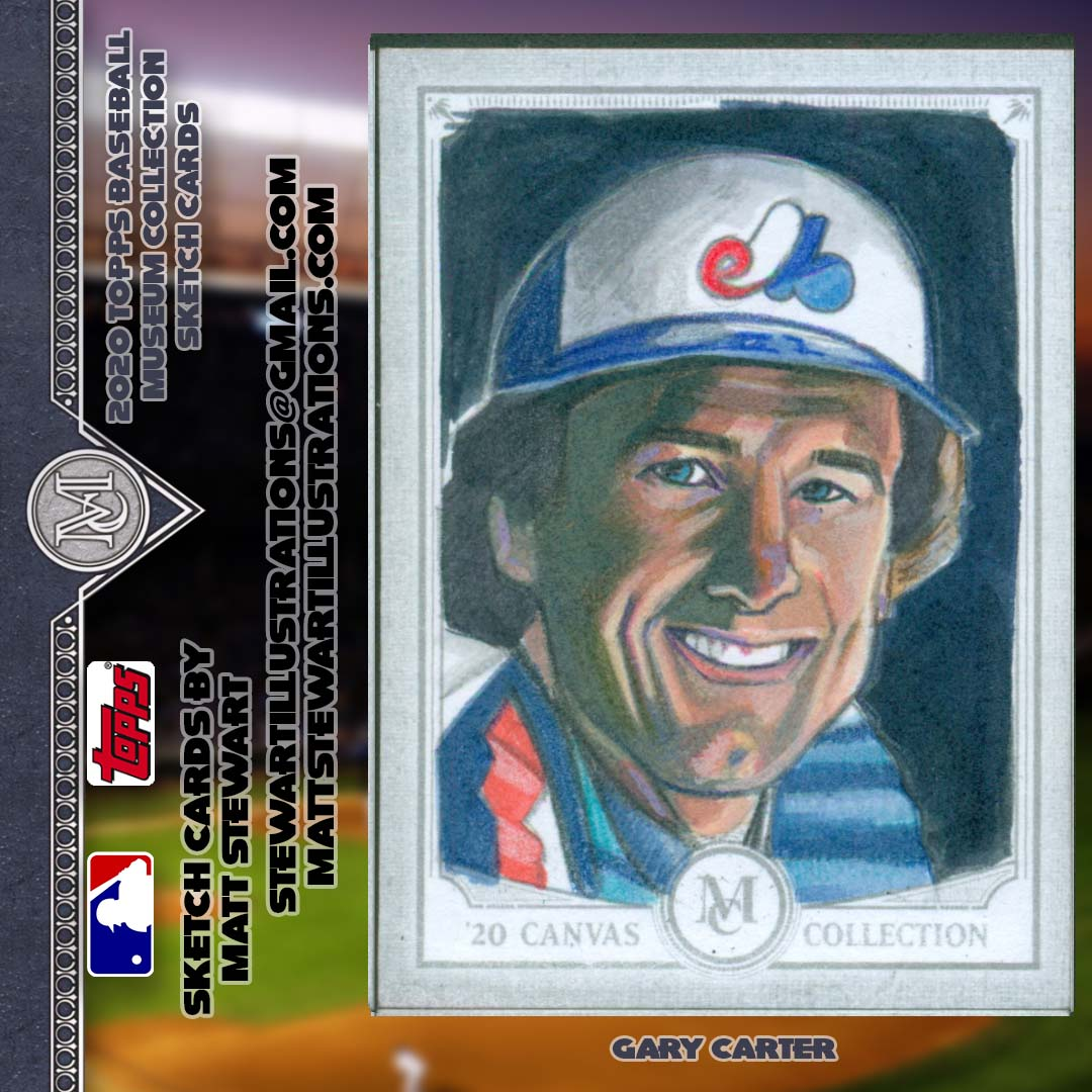 Topps 2020 MLB Museum Collection Trading Card Artwork
