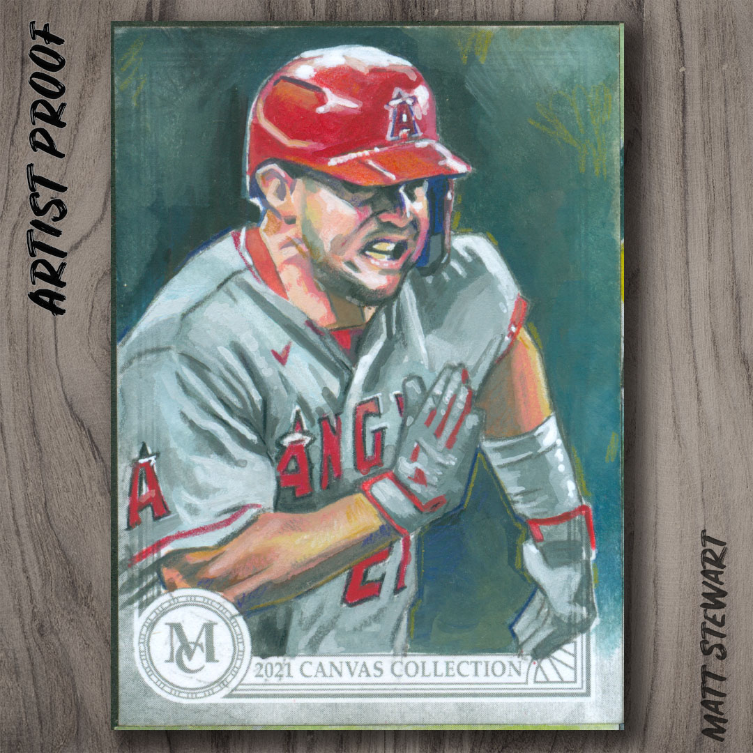 Topps 2021 Museum Collection Artist Proof Sketch Cards