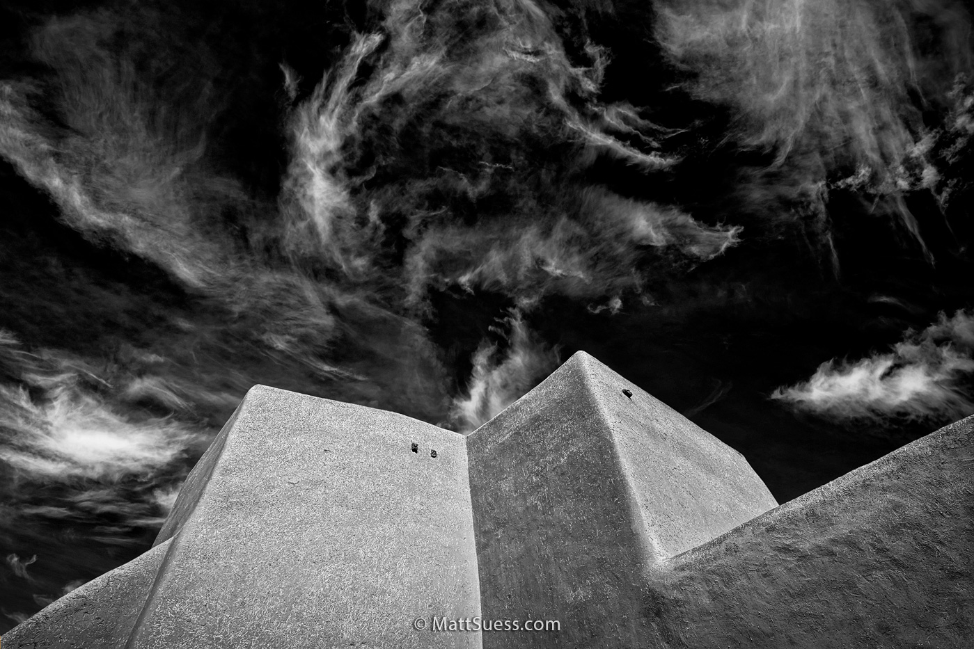 """San Francisco de Asis in B&W"""