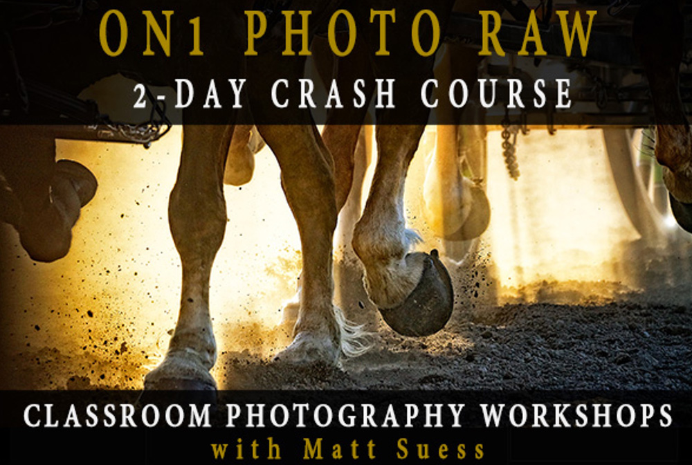 New ON1 Photo RAW Classroom Photography Workshops Announced