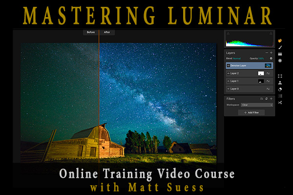 My Mastering Luminar Online Course Now Available for Pre-Order