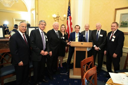 Richard Boruch Rabinowitz, Honoree Kenneth Goldman, Honoree Jack A. Belz, Honoree Courtney Anixter, Rep. Ed Royce (R-CA), Dr. Matt Sweetwood, Honoree Daniel Rose, Honoree Peter Friedmann