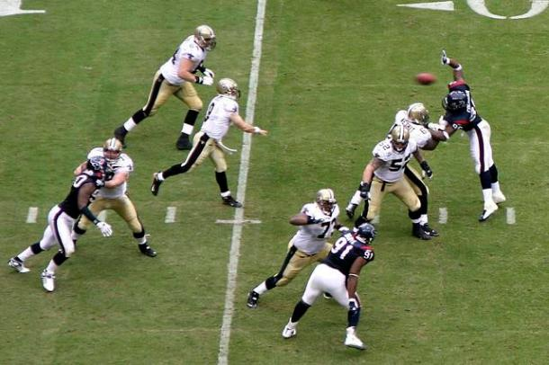 Brees is a natural choice if looking at the franchise in 2-3 year windows (at least).  Photo by eschipul.