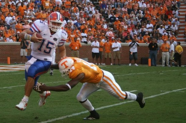 I haven't written much about Tebow, but here's an instance where I'd love to see him used in New England. Photo by Wade Rackley.