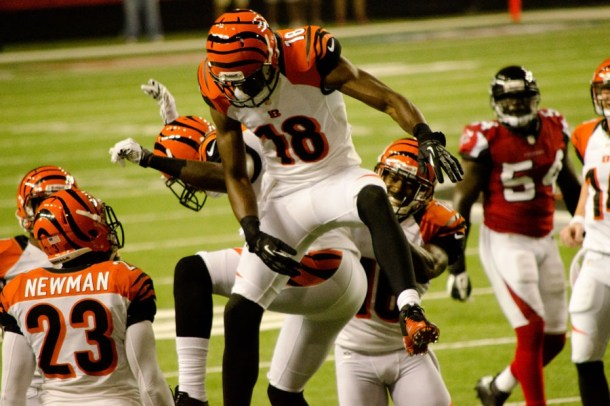 How much would you pay for A.J. Green in a Contract-Auction-Dynasty League?  Photo by Football Schedule.