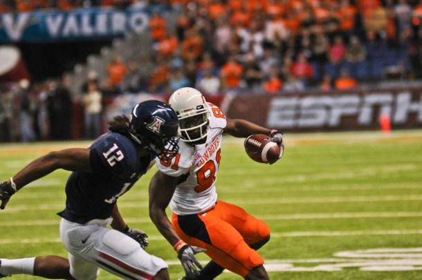 Blackmon opposite Calvin Johnson looks like a great situation in the the making for a quarterback. Photo by ShutterkingIKT