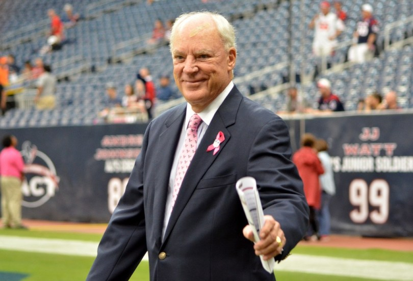 Texans' Owner Bob McNair. Photo by Karen.