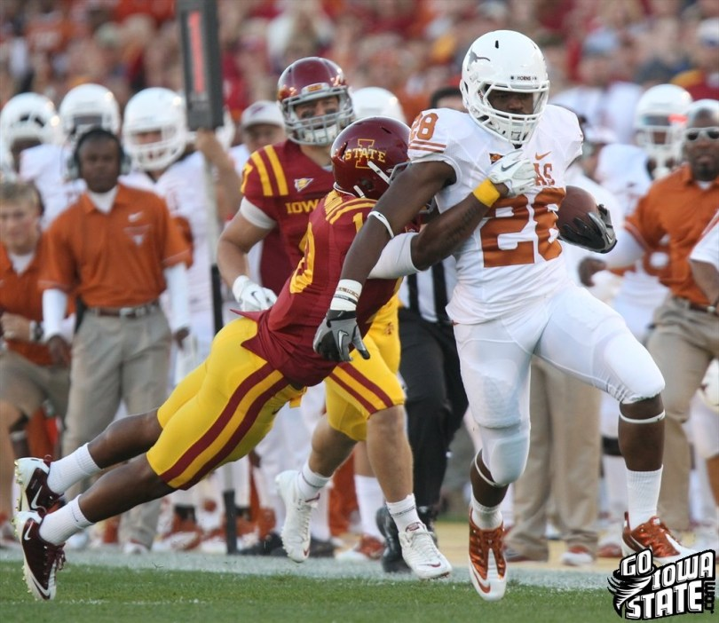 Malcolm Brown hast the tools to be a good NFL starter. Find out why. Photo by  Go Iowa State