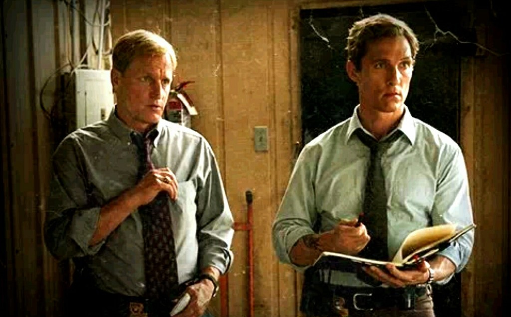 "Rusty Cohle: ""Time is a flat circle."" Eric Stoner: ""Draft coverage is an infinite feedback loop."" Photo by Effenhelmr"