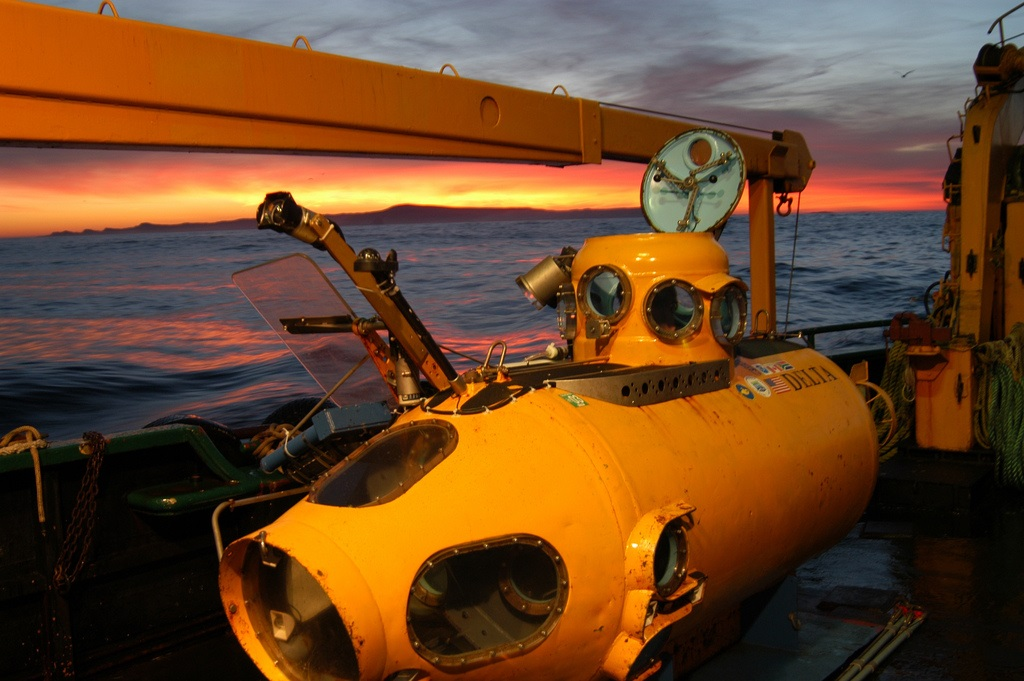 The S.S. Football Sleeper Submersible. Photo by NOAA Photo Library.