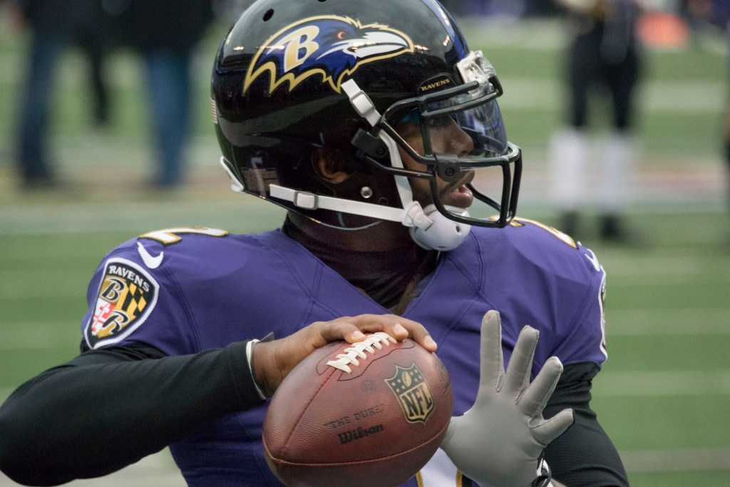 Tyrod Taylor by Keith Allison