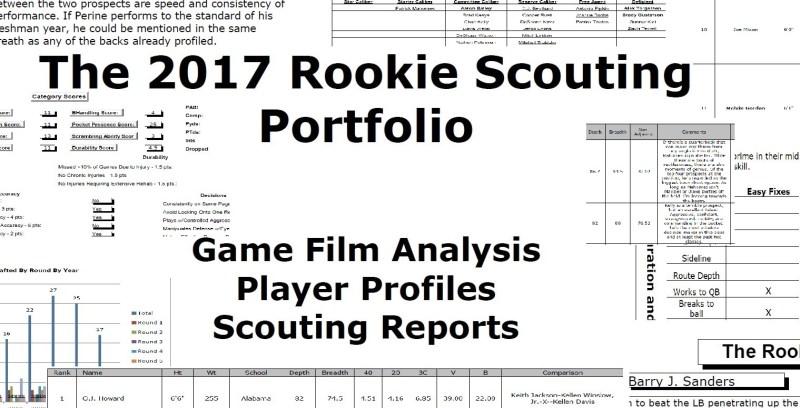 Matt Waldman's 2017 Rookie Scouting Portfolio provides in-depth analysis of all Fnatasy Foot Relevant NFL Talent