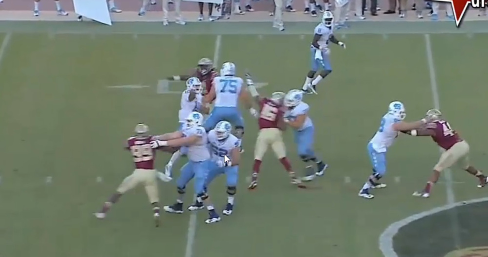 RSP Boiler Room No.62: QB Mitch Trubisky (North Carolina) Pocket Pressure