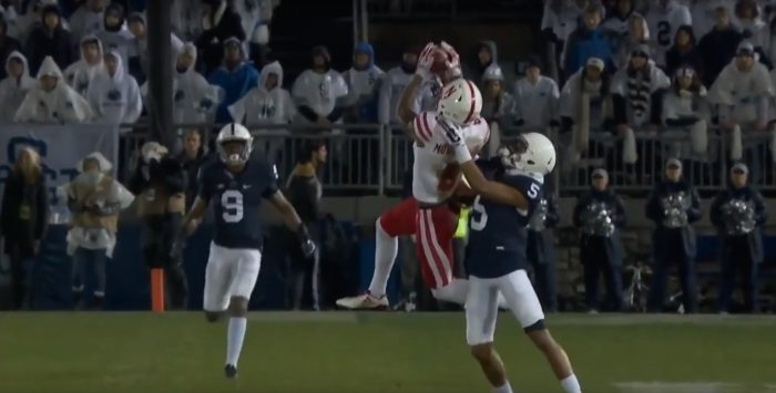 RSP Boiler Room No. 136 WR Stanley Morgan, Jr. (Nebraska): Good Technique Affords Second Chances