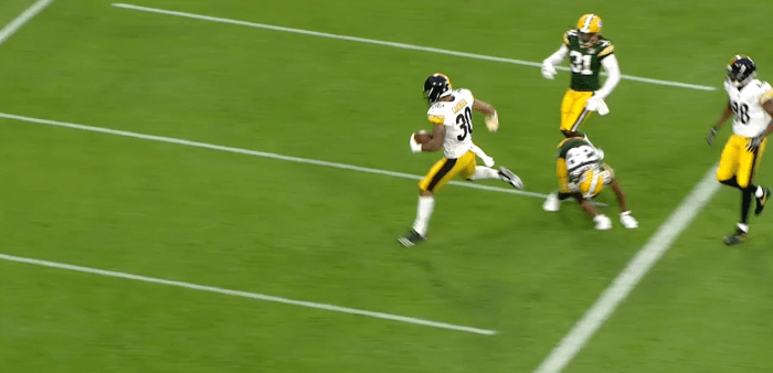 RSP NFL Lens RB James Conner (Steelers): The Eyes-Feet Connection