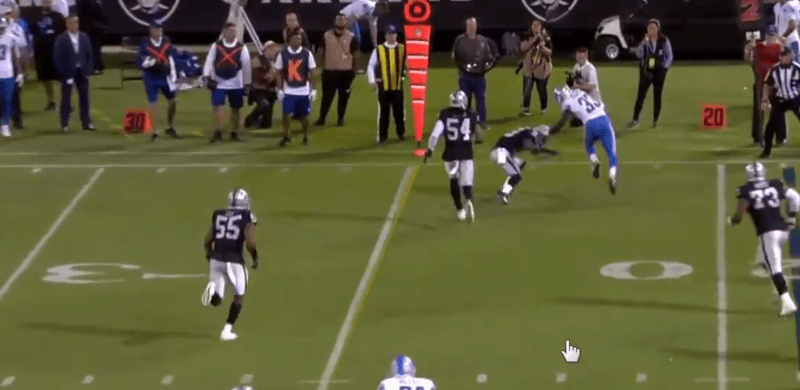 Matt Waldman's RSP NFL Lens: Lions RB Kerryon Johnson's Preseason Debut