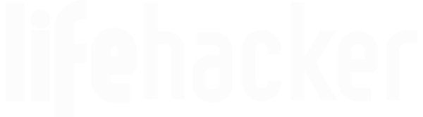 white lifehacker logo
