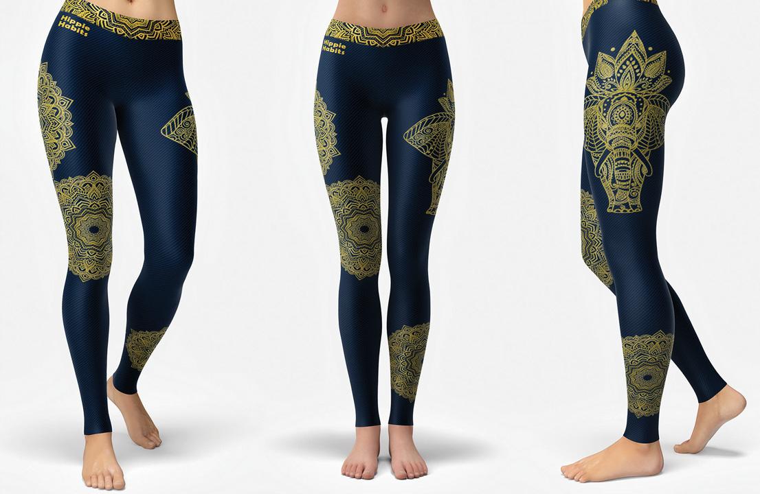 Hippie Habits sportswear - legginsy - acroyoga - joga - gimnastyka - fitness - urbex