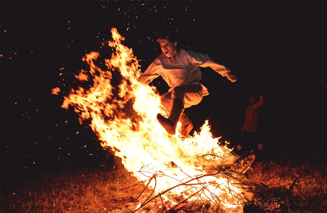 Slavic Wanderers - Beskidy - Szyndzielnia - Palenica - fire - mattwasik photography - fotografia bielsko-biała czechowice-dziedzice