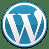 Blue WordPress logo, courtesy http://wordpress.org/about/logos/