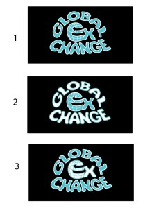 Global Exchange Concept Logos