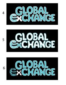 Global Exchange Concept Logos