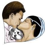 Kiss Of Death Illustration