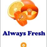 Orange Magazine Ad