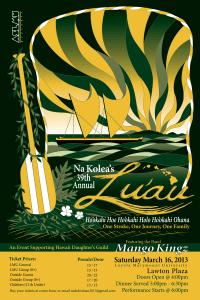 Lu'au Poster Concept 2