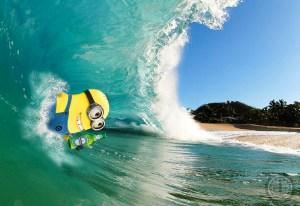 Body Surfing Minion