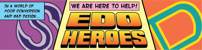 EDO Heroes Banner