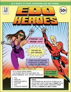 E.D.O Heroes Ad