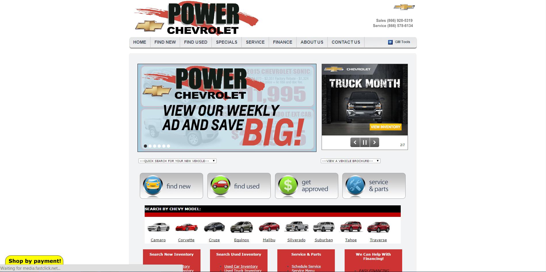 Power Chevrolet (Before) 1.1