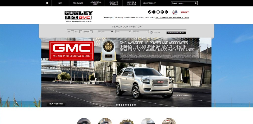 Conley Buick GMC, Featured