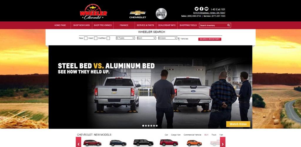 Wheeler Chevrolet, Featured