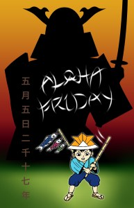 Boy's Day Aloha Friday 2017