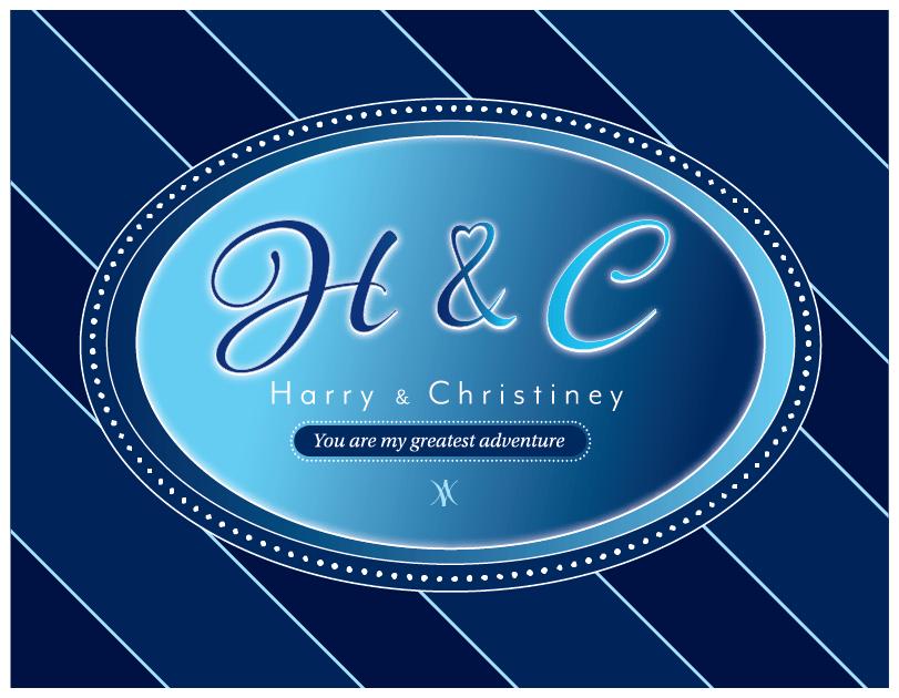 H & C Colored Print