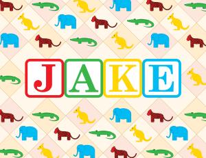 Jake's Design, 1st Birthday