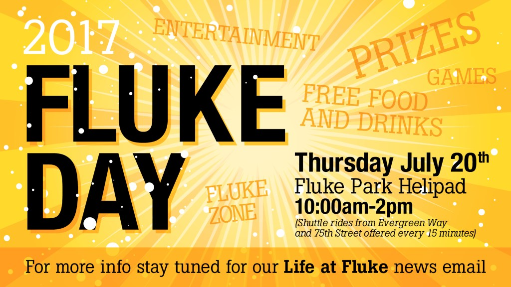 Fluke Day 2017 Monitor Display