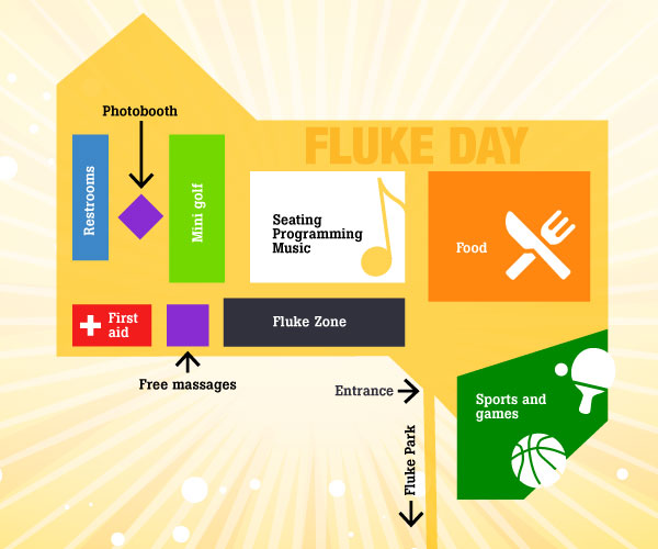 Fluke Day 2017 Map