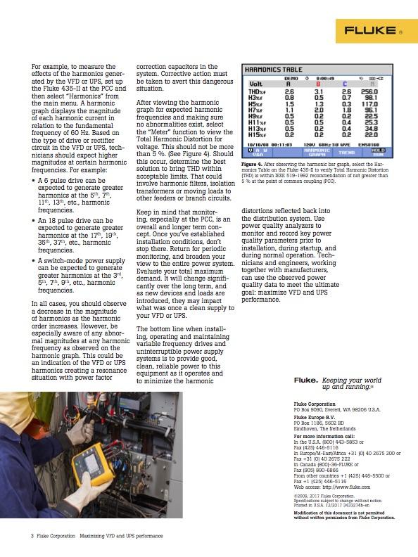 Maximizing VFD and UPS performance