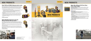 Fluke Test Tools Catalog Insert