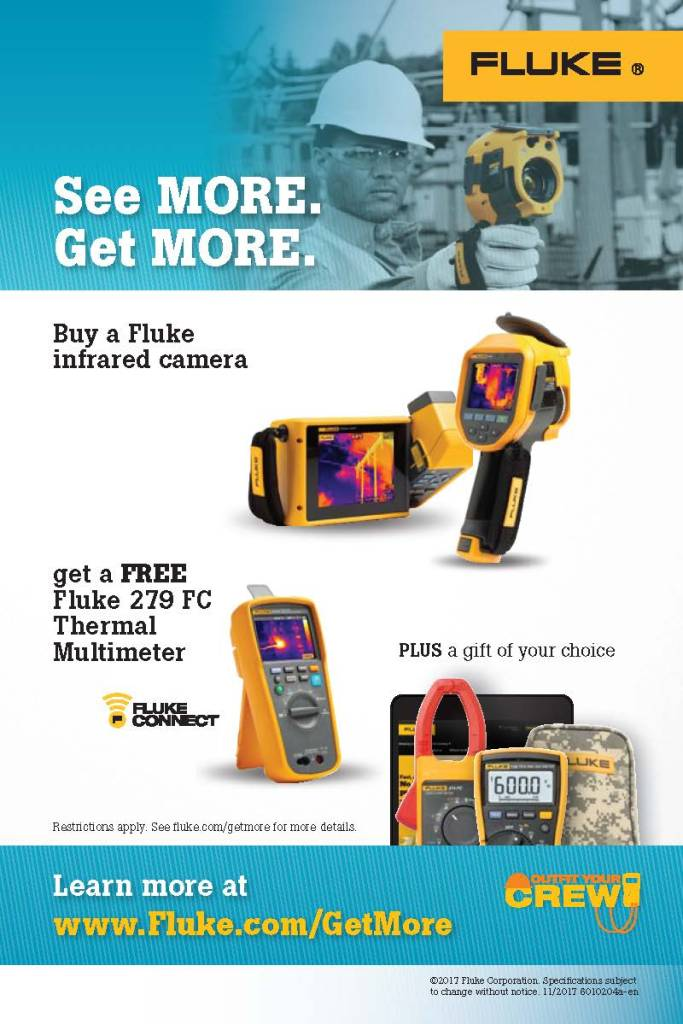 Fluke Thermography Outfit Your Crew Subcampaign, Card