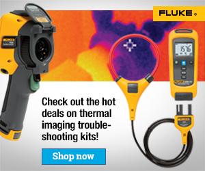 Fluke Thermography Troubleshooting Kit Promo, External Web Banners