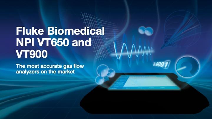 Fluke Biomedical New Product, VT650/VT900 PPT Template