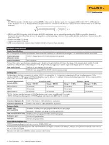 8270A/8370A Pressure Controllers Datasheet